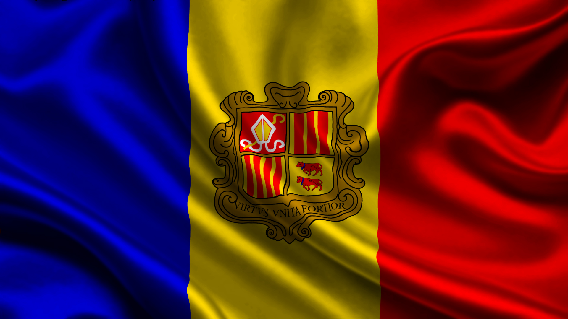 Andorran Flags (Andorra) from The World Flag Database