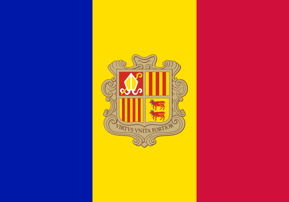 File:Flag of Andorra.svg Wikimedia Commons