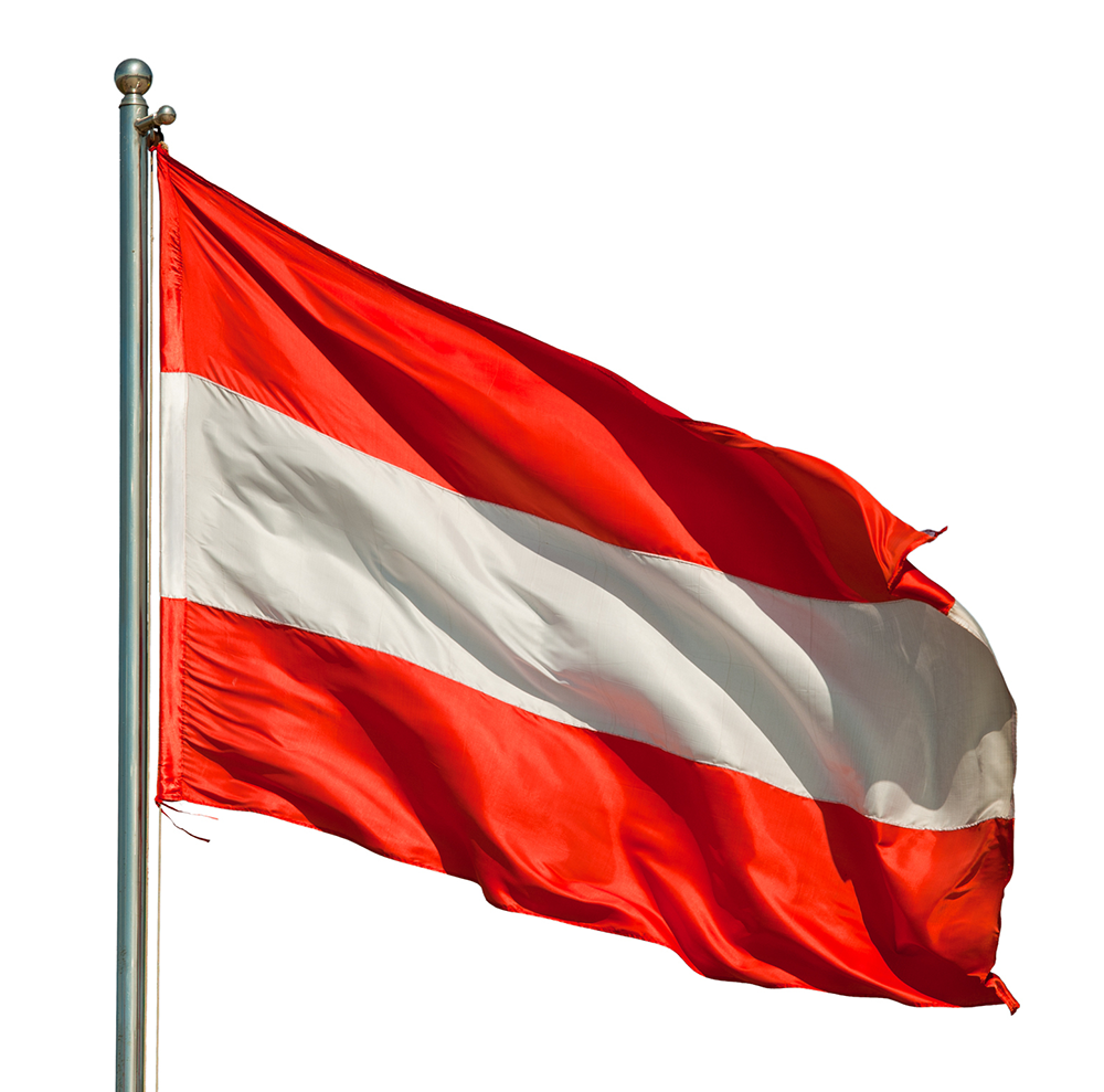 Austrian Flags (Austria) from The World Flag Database
