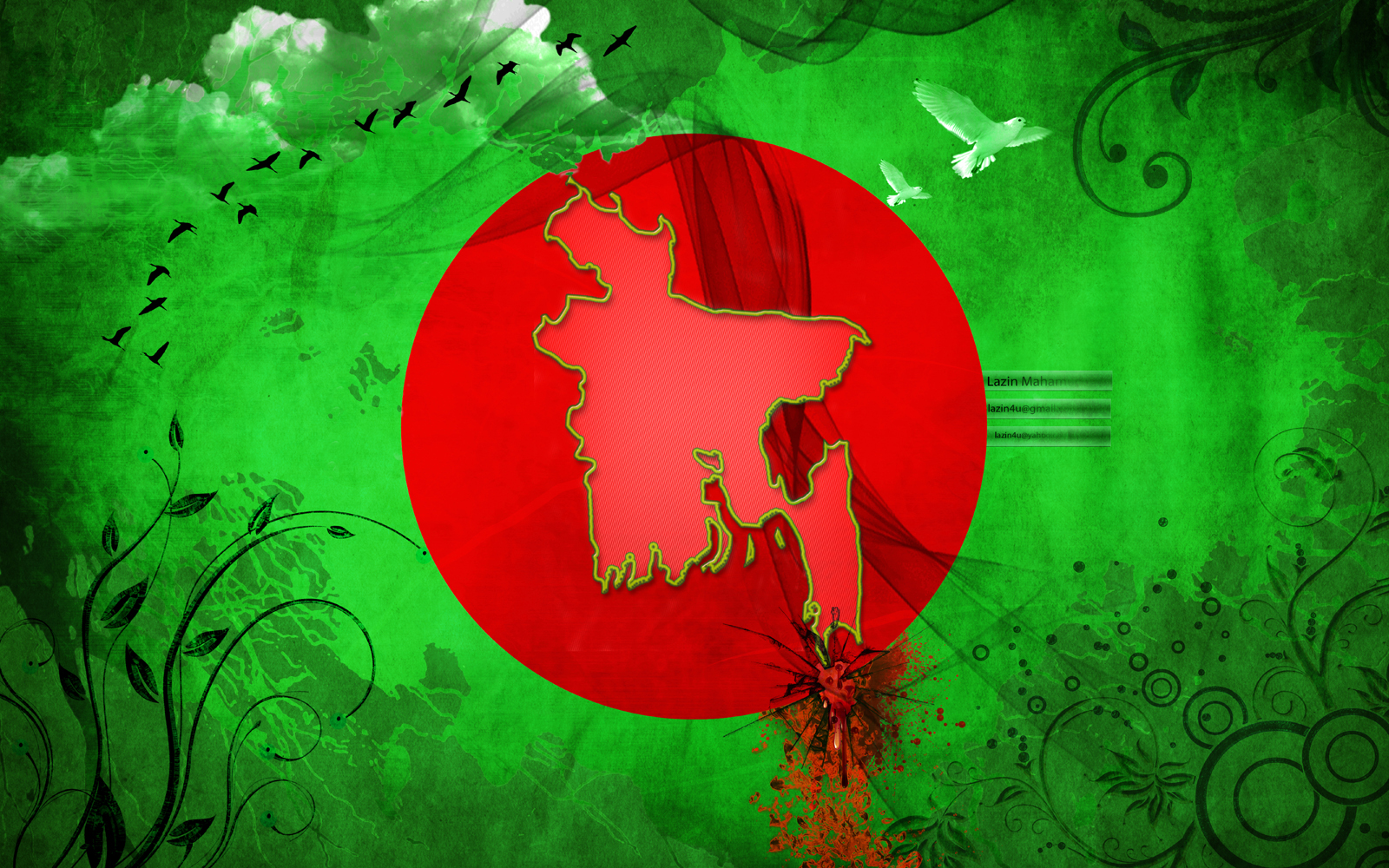 Bangladeshi Flags (Bangladesh) from The World Flag Database