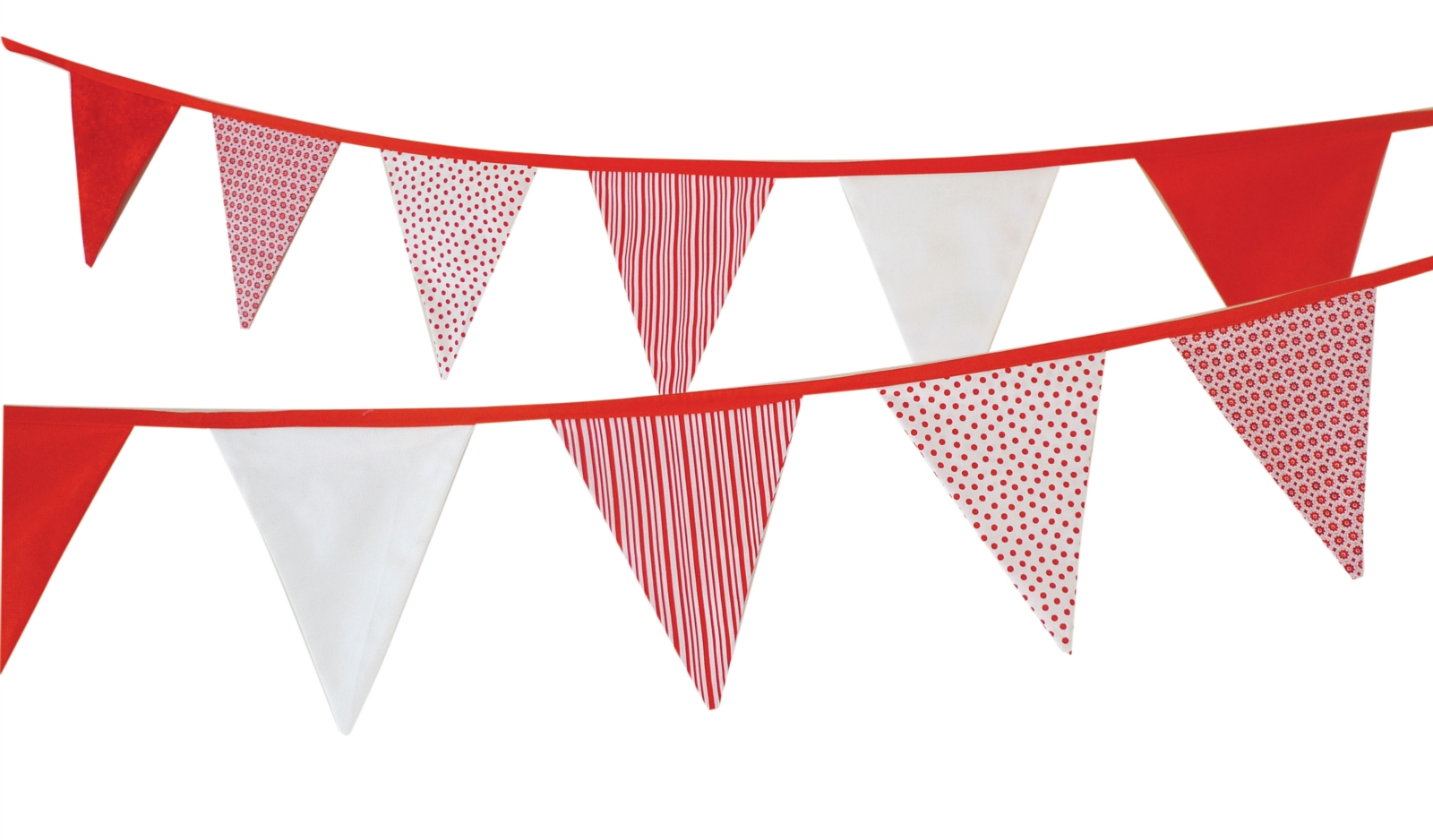 Red bunting flag clipart ClipartFest