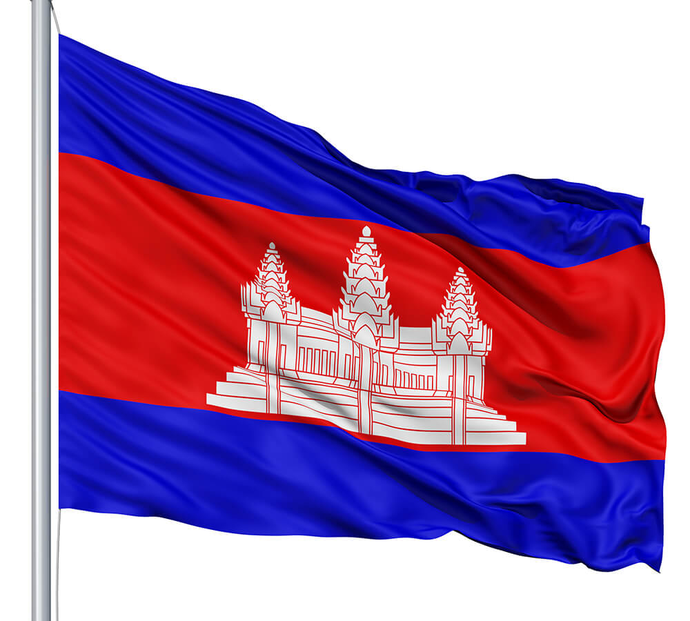 Cambodia Flag colors meaning & history of Cambodia Flag
