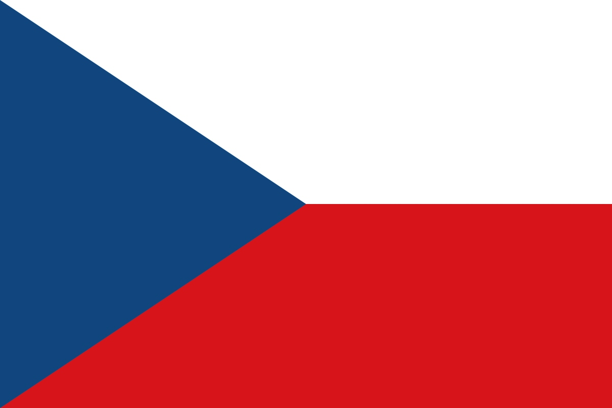Czech Republic Flag colors meaning & history of Czech Republic Flag