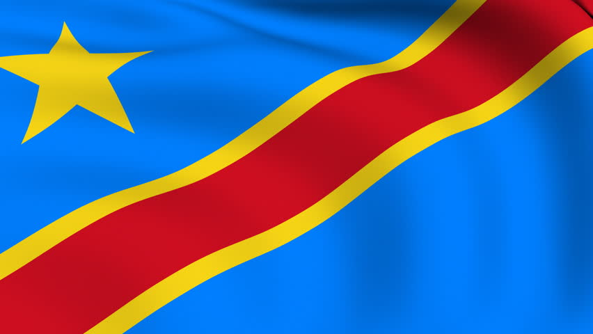 Democratic Republic of the Congo Flag colors meaning & history