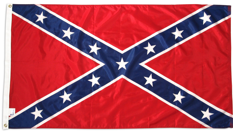 3x5 ft Super Knit Confederate Flag