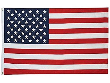 Amazon.com: Flags Unlimited U.S. Nylon Flag 3x5 Feet Printed