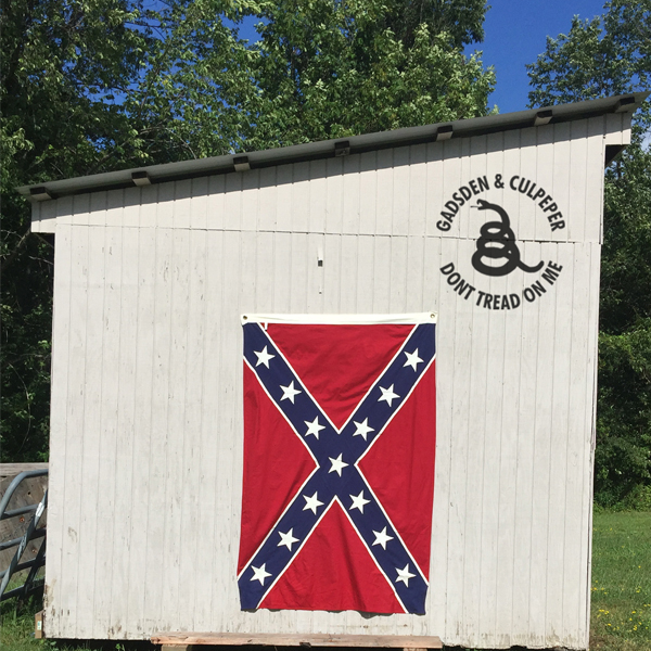 4x6 Sewn Cotton Confederate Flag