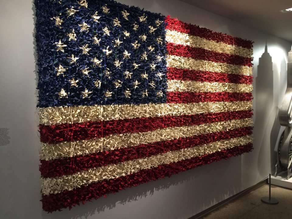 Odd Glory: A Salute To Offbeat American Flag Art | Urbanist