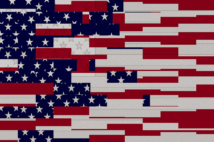 Flag art USA | 가보고 싶은 장소 | Pinterest | Abstract, Flags and Nice