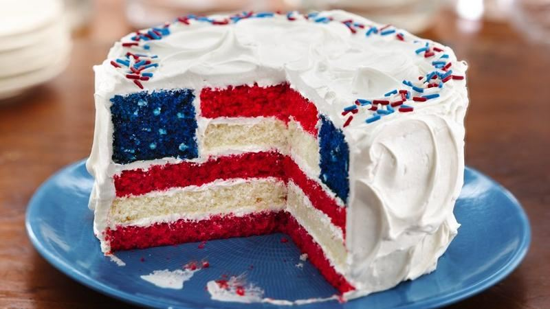 Flag Cake Recipe | Taste of Home