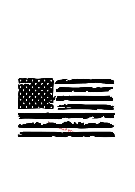 Rustic American Flag Decal,Windshield decal, Ford, Chevy, Harley