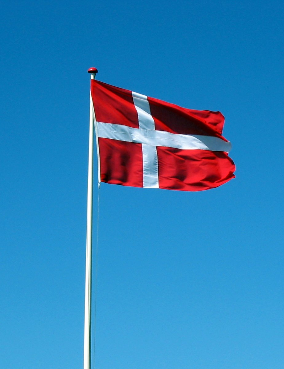 Flag Denmark Animated Flag Gif