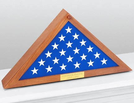 Personalized Flag Display Case | Gifts Gifts by Interest Gifts