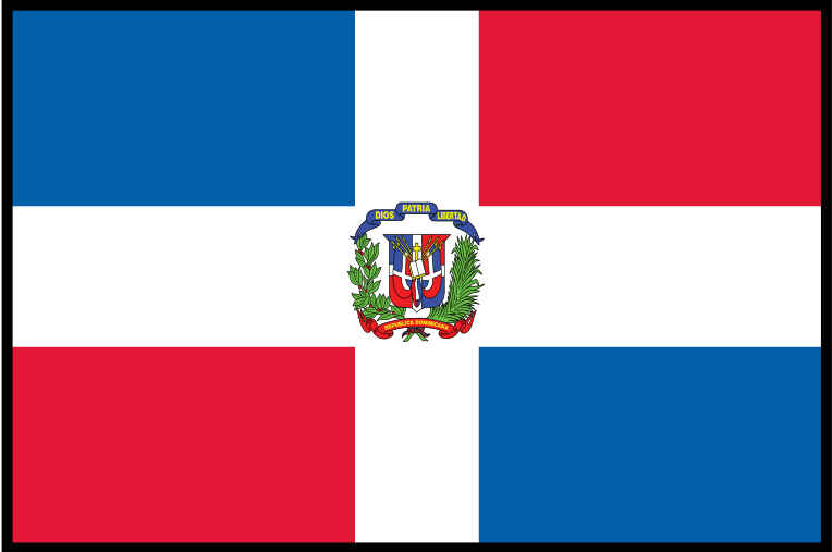 Dominican Republic Flag colors meaning & history of Dominican