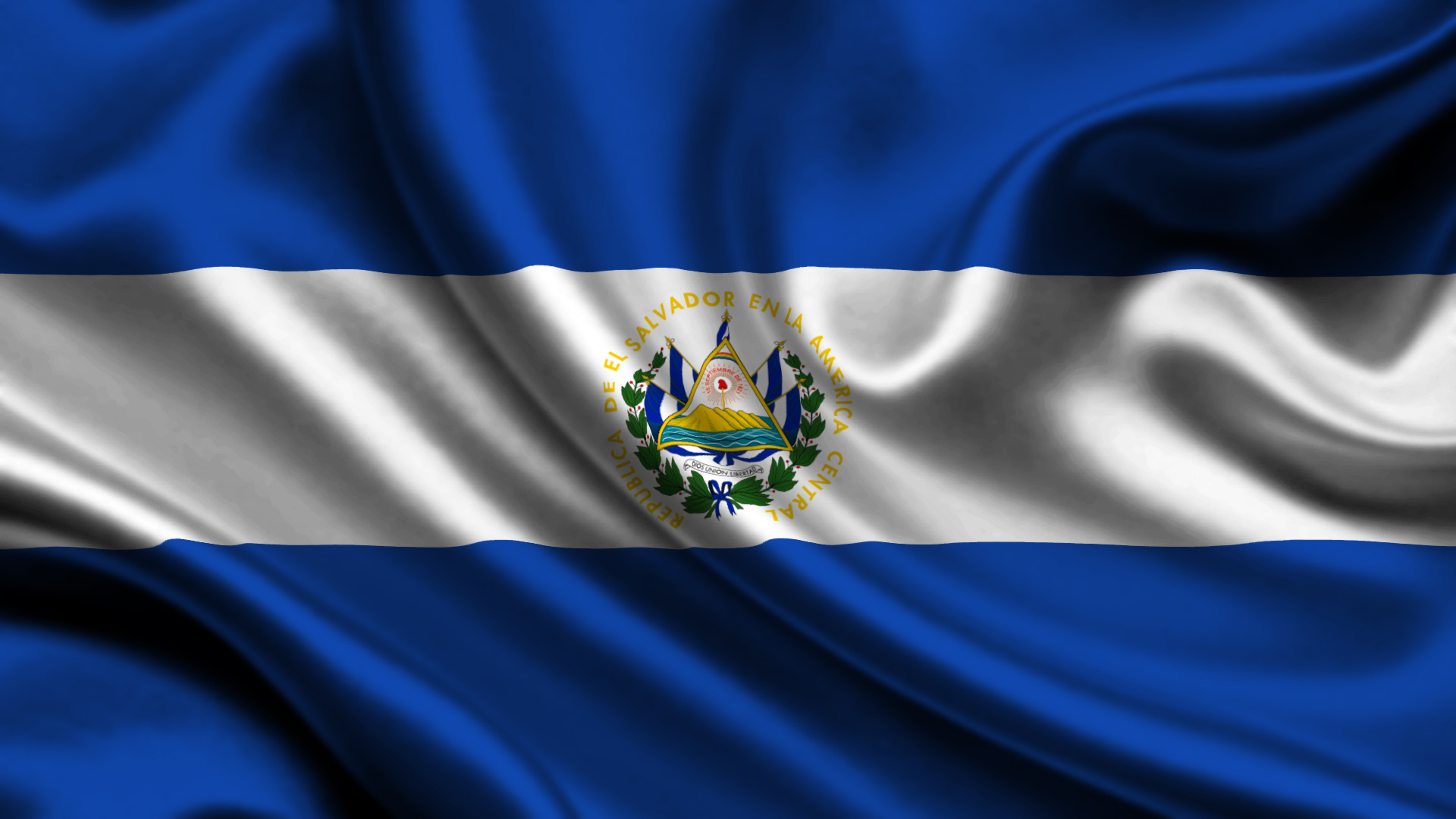 El Salvador National Flag and Naval Ensign