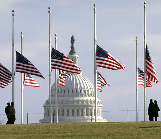 What Does a Flag at Half Mast Mean?