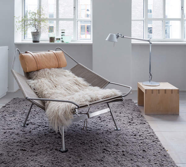 PP225 Flag Halyard Chair by Hans J. Wegner