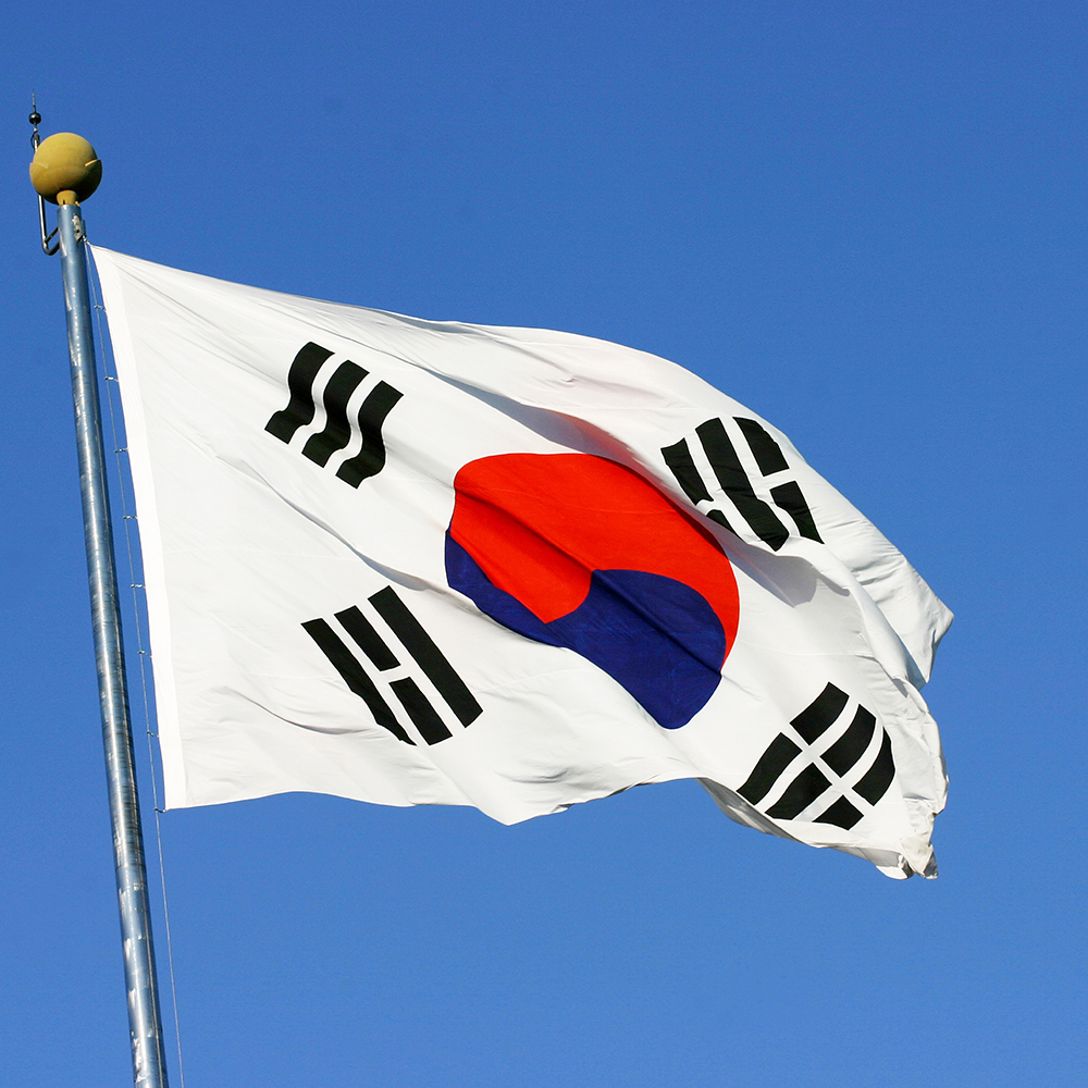 Binary Numbers & South Korean Flag