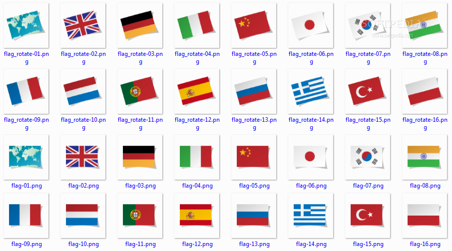 Language Flags Download