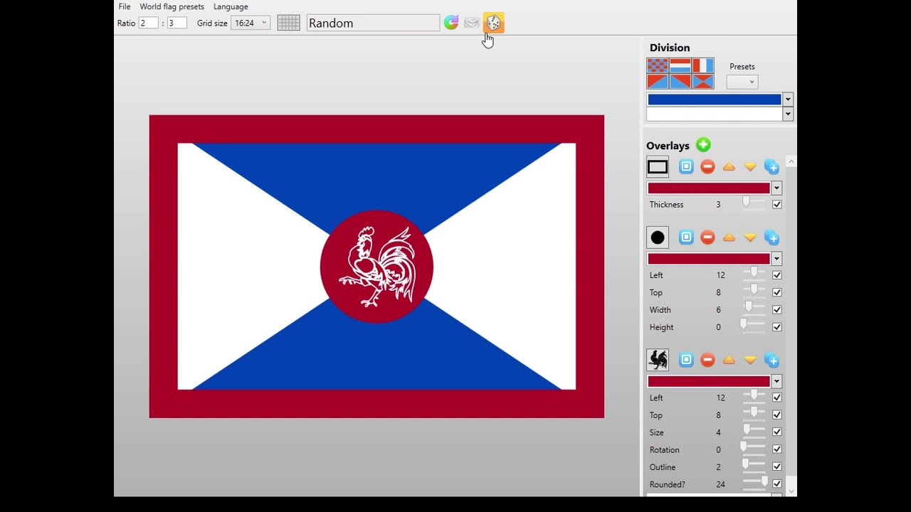 NationStates • View topic Flag maker