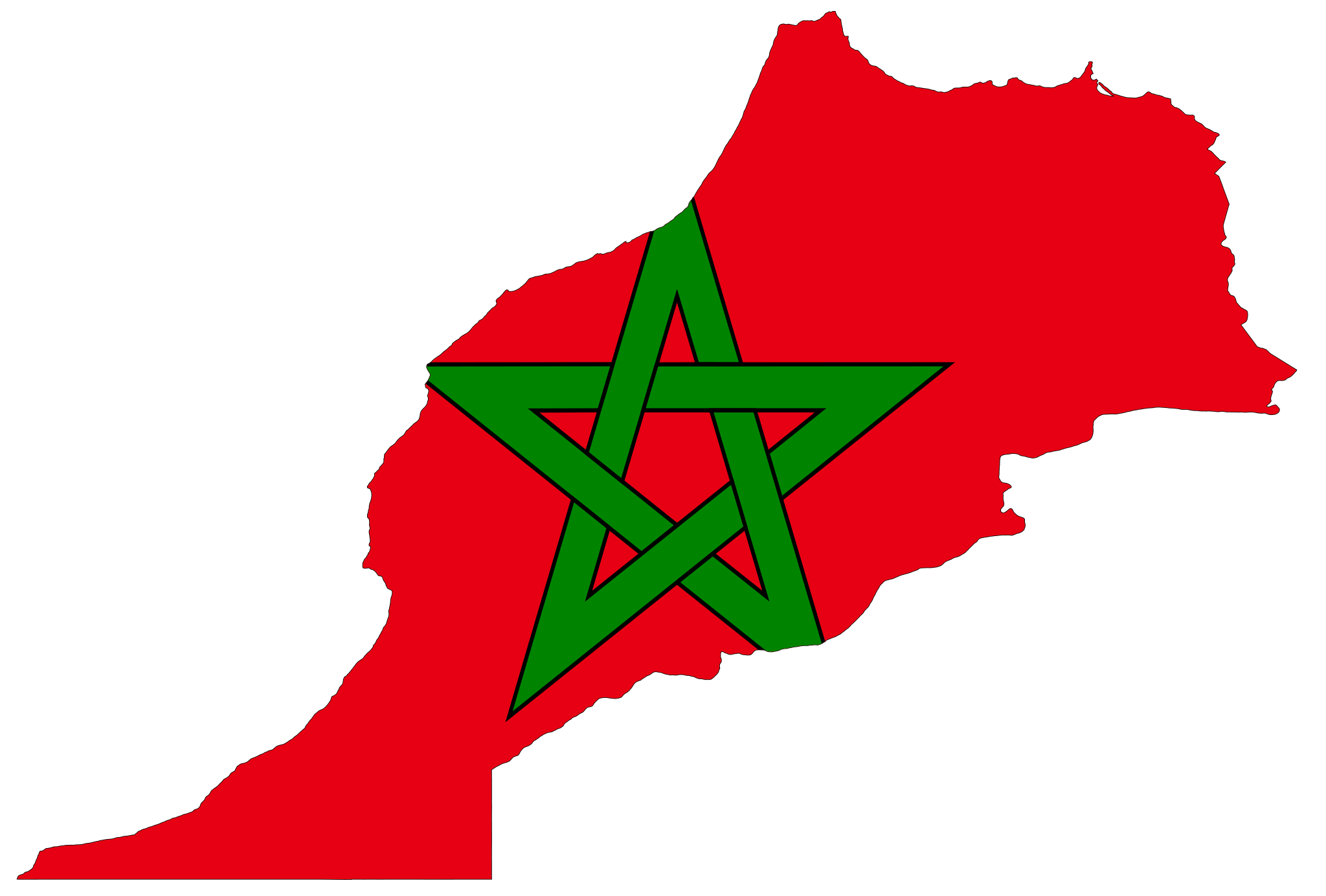 Morocco Flag and Description