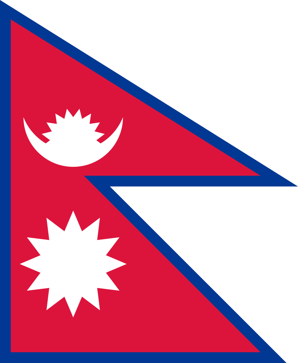 nepal flag Google Search | Pelzom | Pinterest | Flags and Country