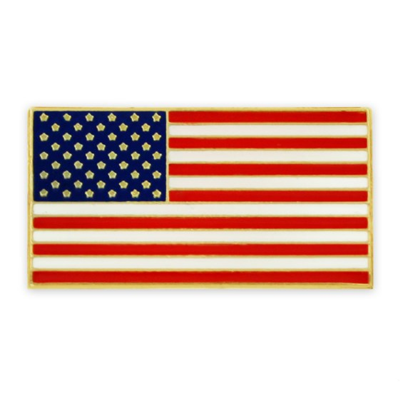 American Flag Pin with Magnetic Back | PinMart