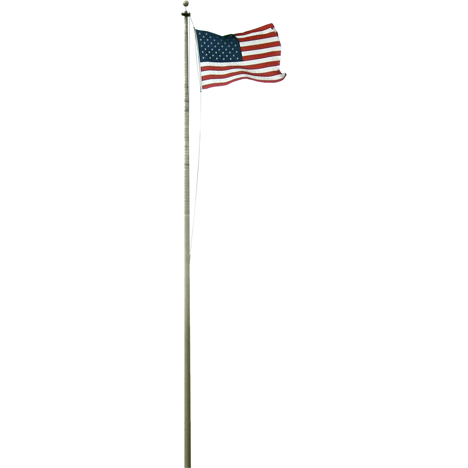 Amazon.: US Flag Store Heavy Duty 20 Feet Residential Flagpole