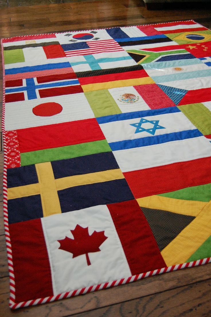 17 Best ideas about Flag Quilt on Pinterest | American flag quilt