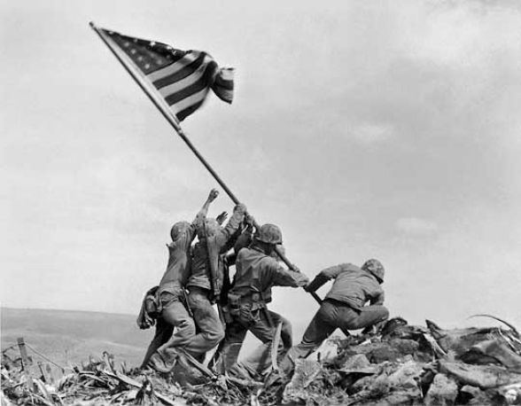 The Flag at Iwo Jima | EKLF