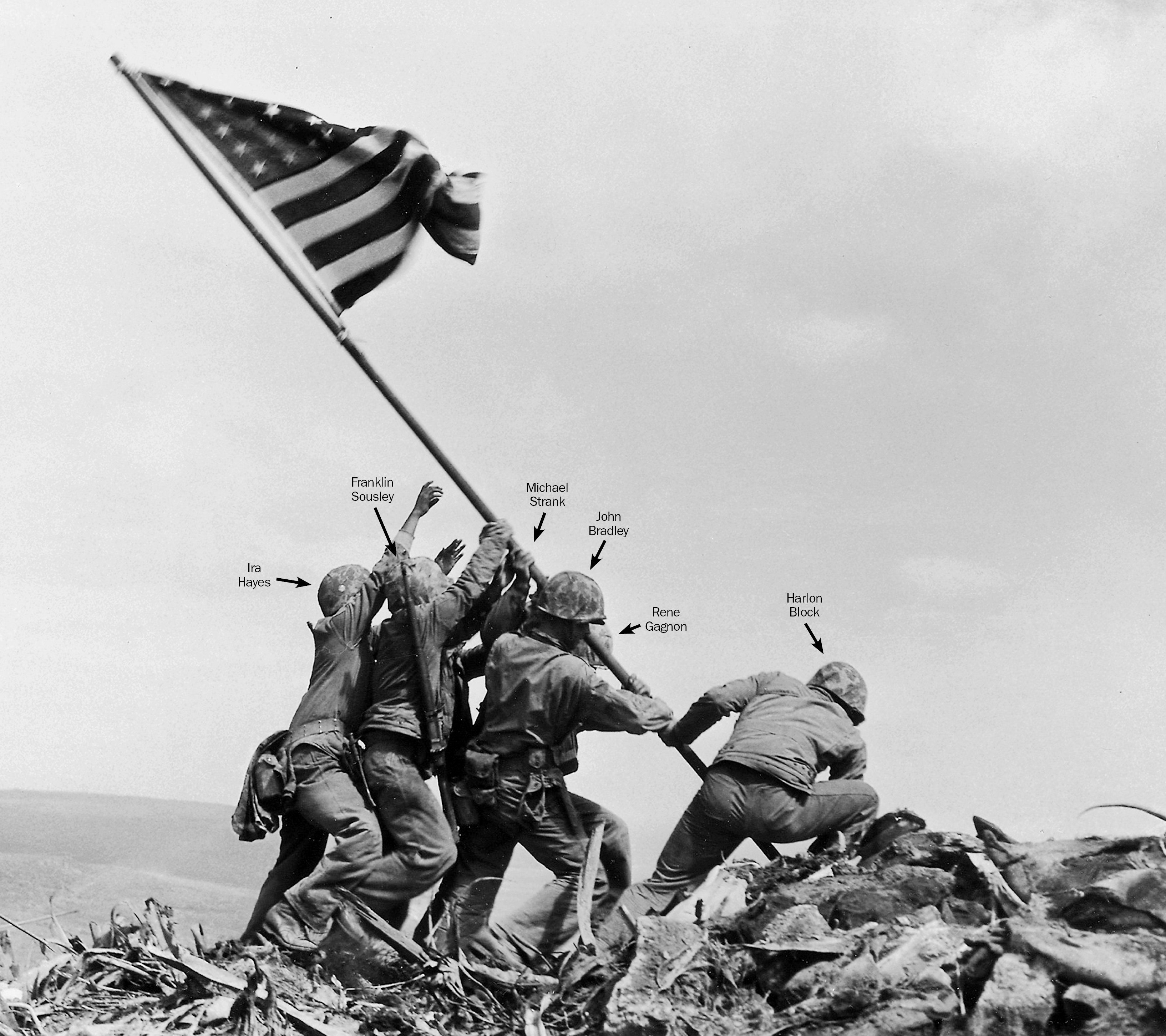 Iwo Jima: New mystery arises from iconic image Omaha. Omaha