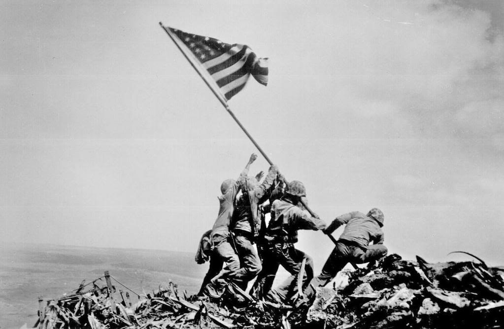 The Second Flag Raising at Iwo Jima during WWII Was Not Staged