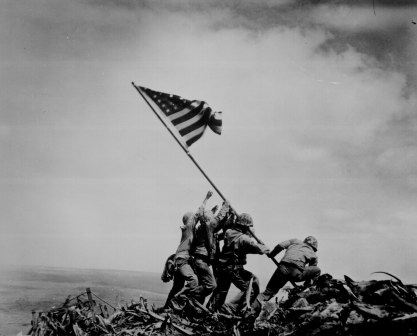 Raising the Flag on Iwo Jima Wikipedia