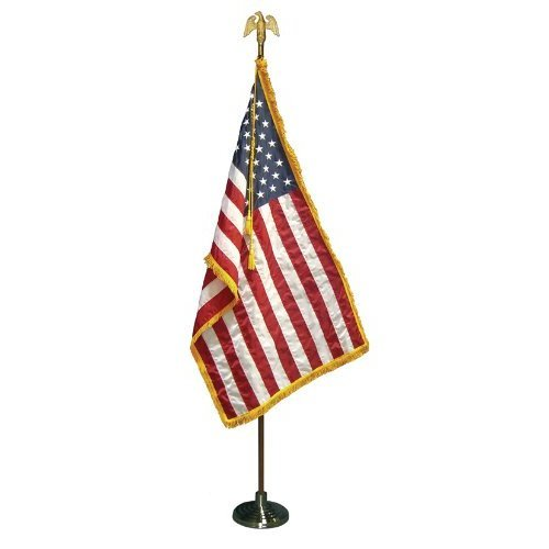 Flag Stand Chrome (For Guidon Pole) | US Military