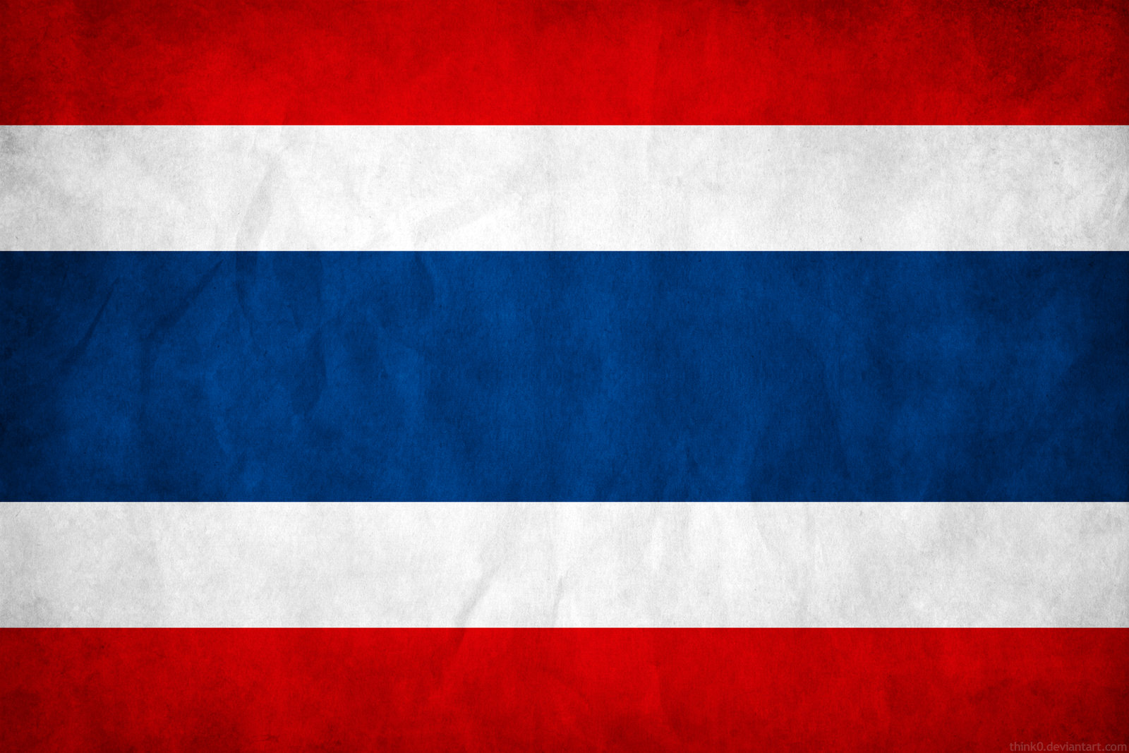 Thailand Flag Printable