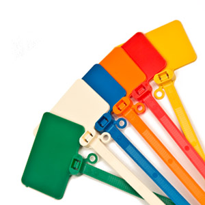 Flag Cable Tie Markers