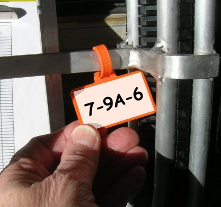 Flag Cable Ties Identification Zip Ties | ZipTape® Label ID Systems