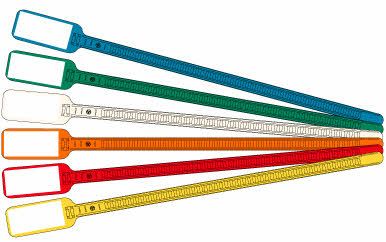 ID Cable Ties Flag Zip Ties | ZipTape® Label ID Systems
