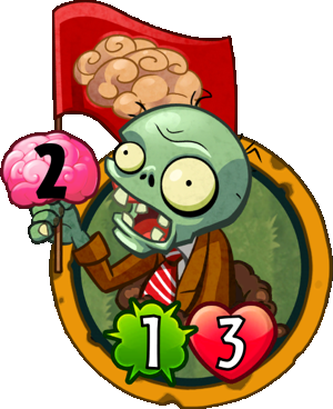 Image Almanac Card Flag Zombie.png | Plants vs. Zombies Wiki