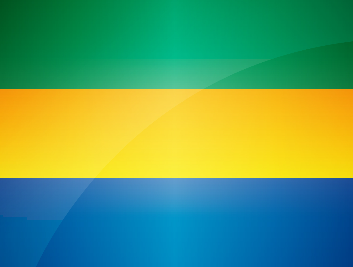 Gabon Flag colors meaning history of Gabon Flag