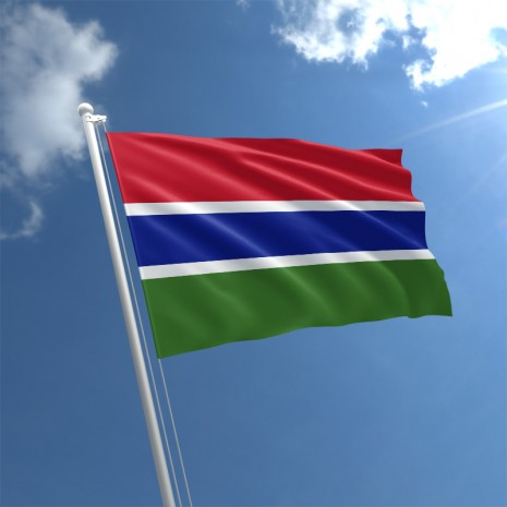 Gambia Flags and Symbols and National Anthem