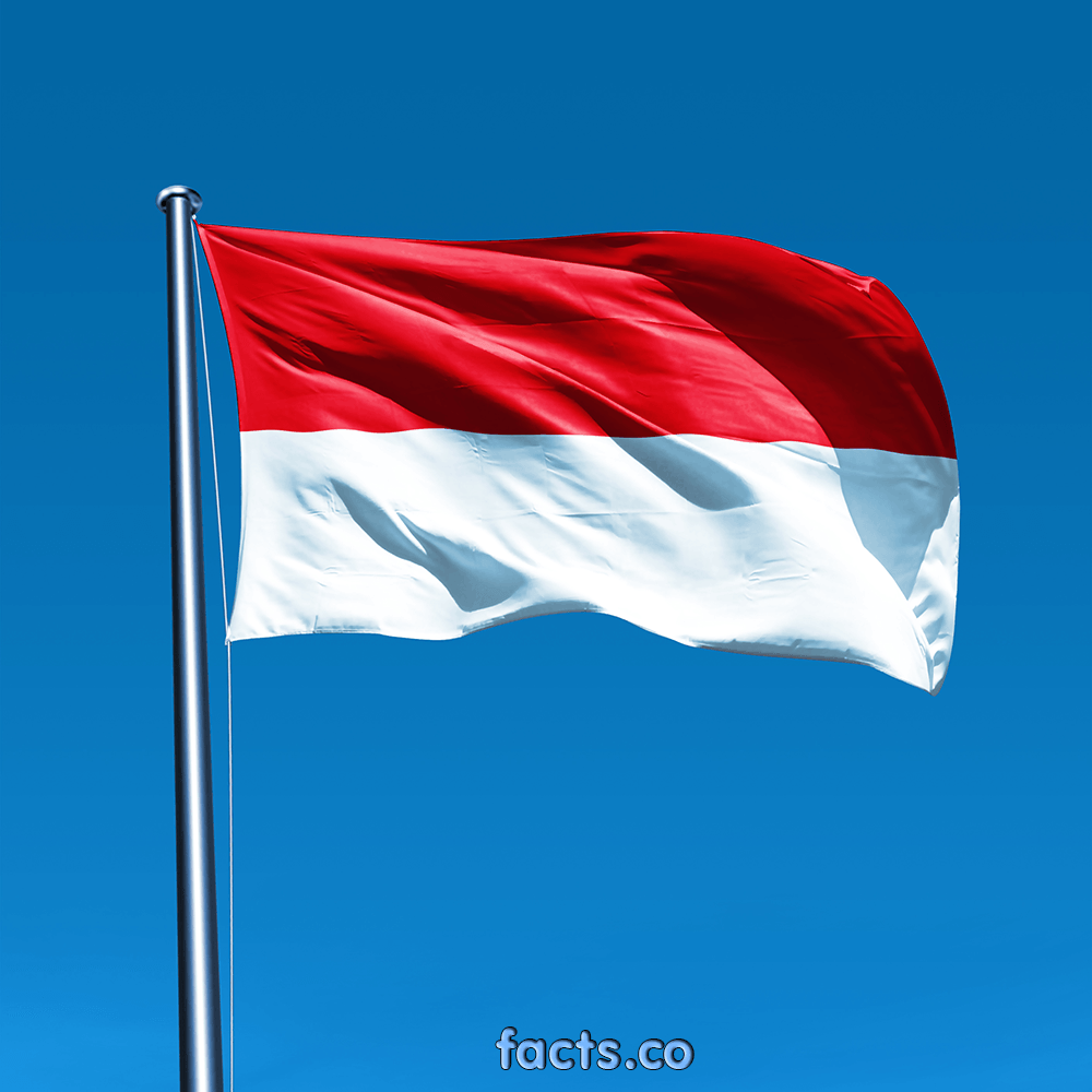 Indonesia's Flag EnchantedLearning.com