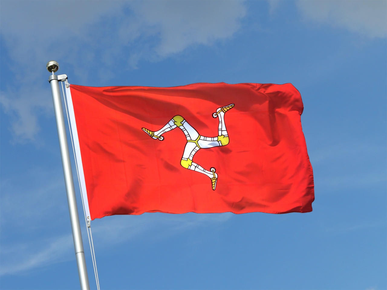 Isle of Man Guide GOVERNMENT, Manx Flags