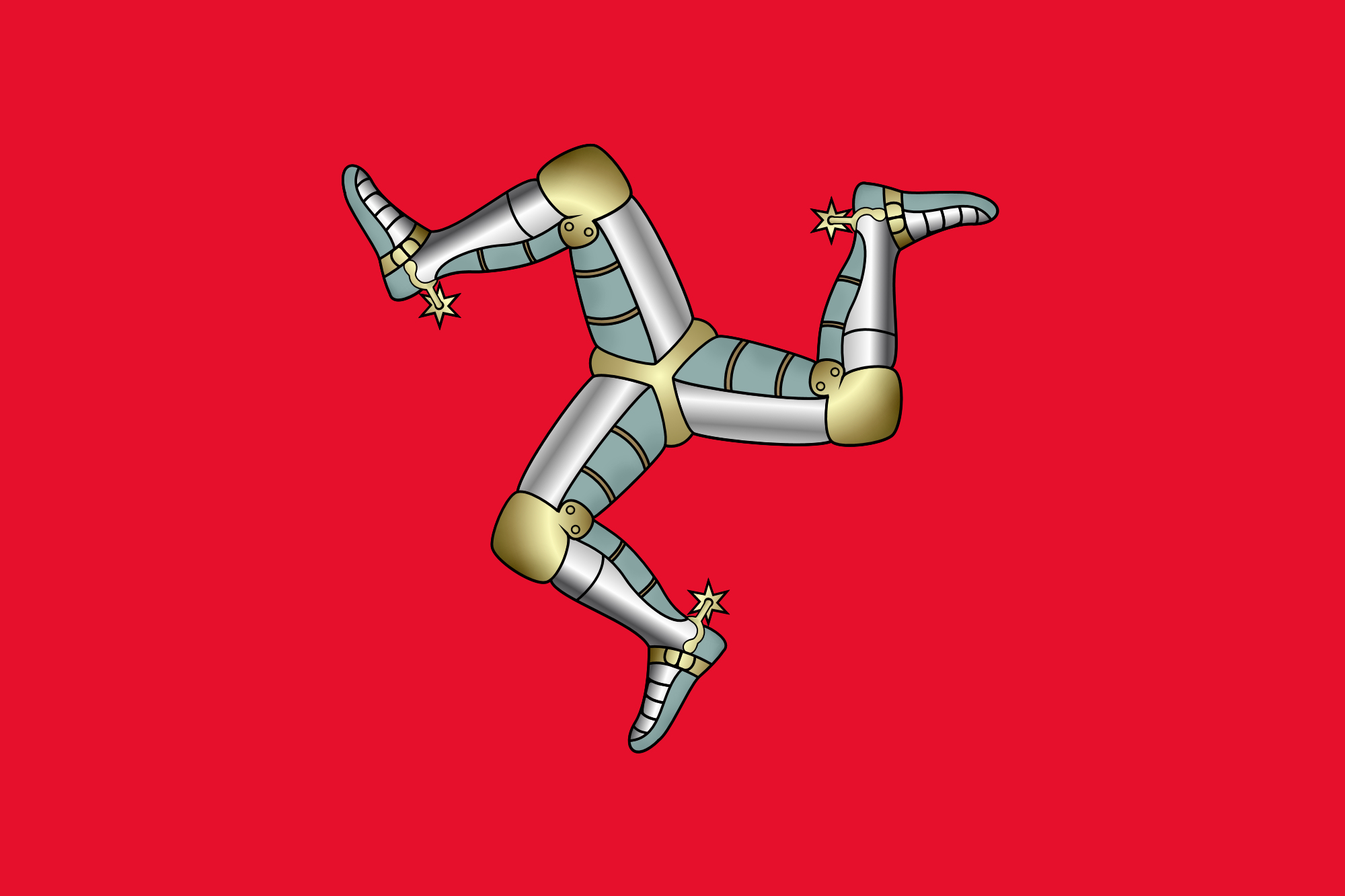 File:Flag of the Isle of Mann.svg Wikimedia Commons