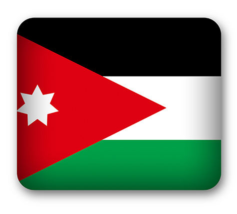 Jordan Flag Stock Footage Video Shutterstock