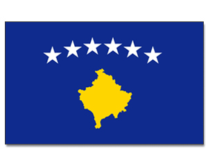Flag Kosovo Animated Flag Gif
