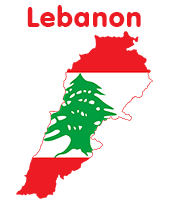 Flag Of Lebanon Stock Footage Video Shutterstock