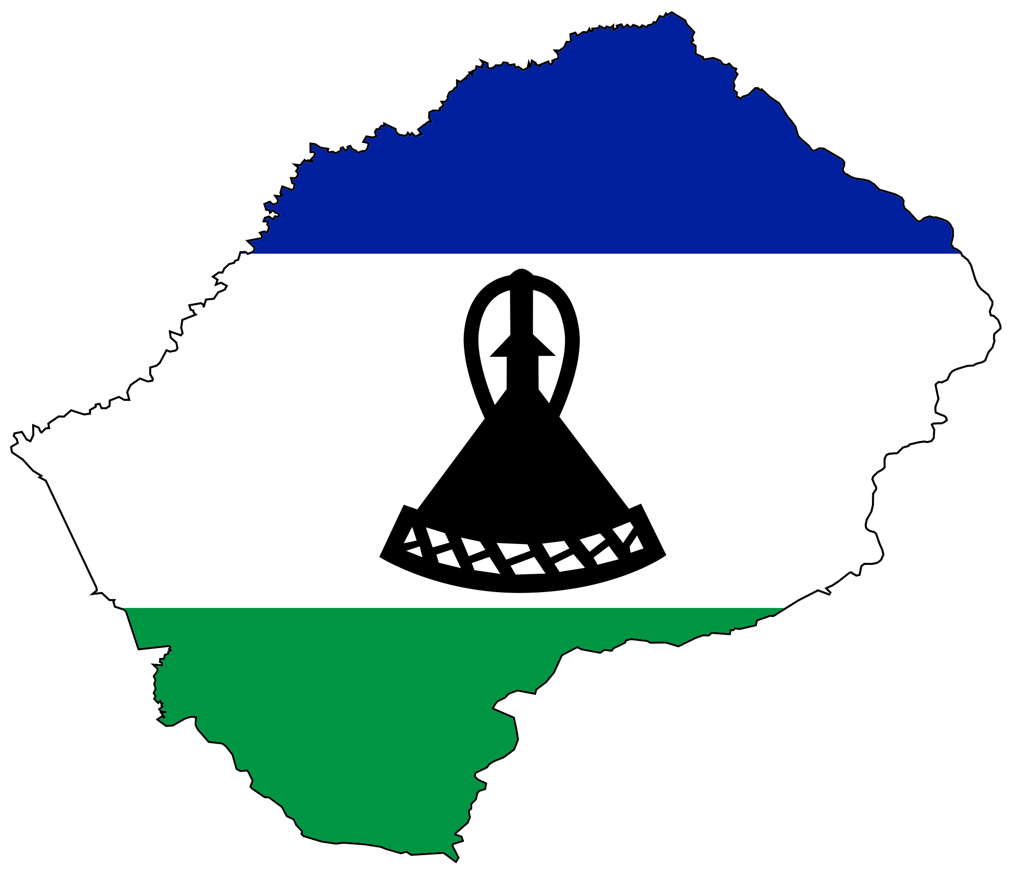 Lesotho Flags and Symbols and National Anthem