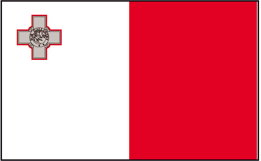 Malta Flag colors meaning & history of Malta Flag