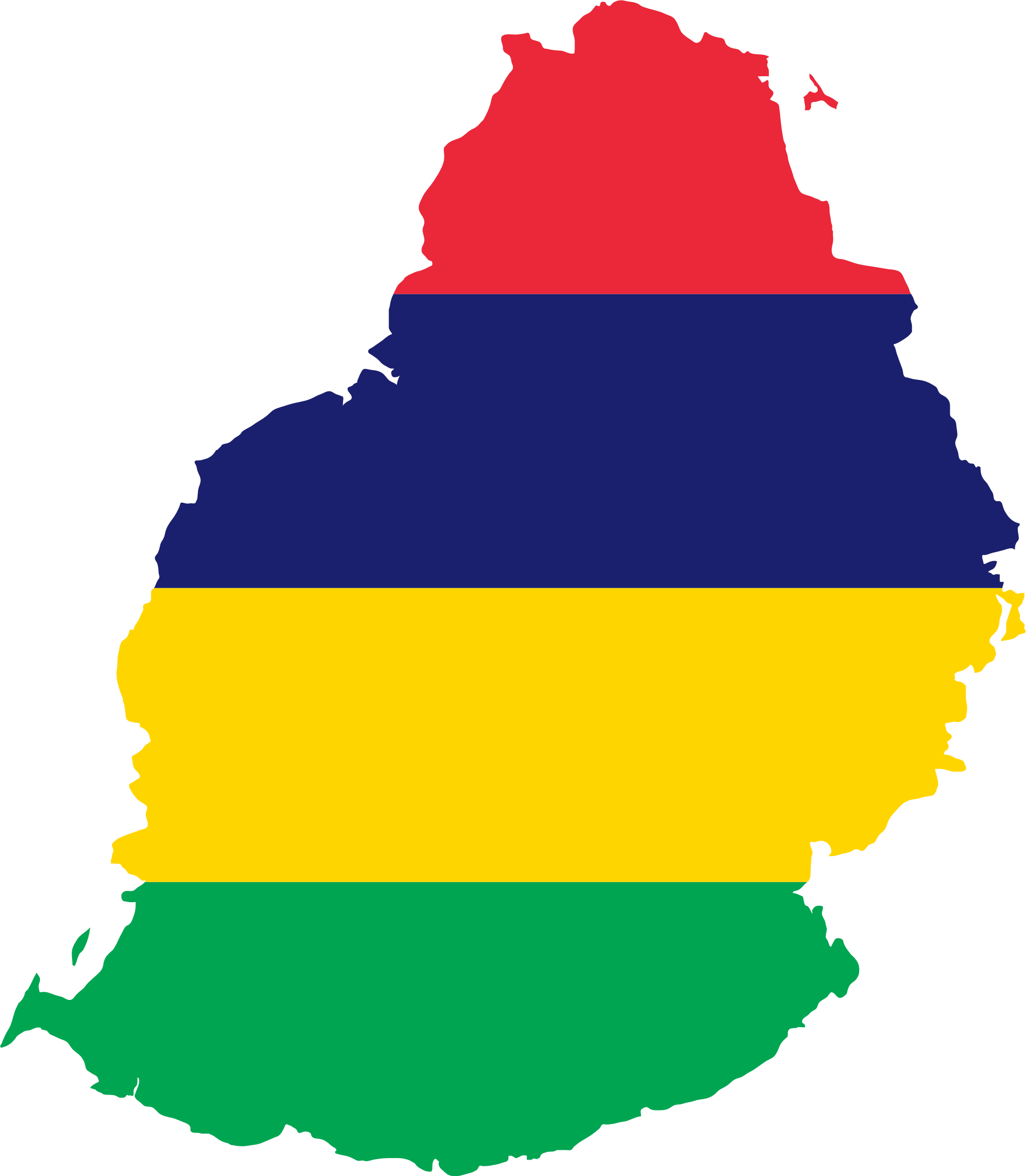 Mauritius Flag and Description